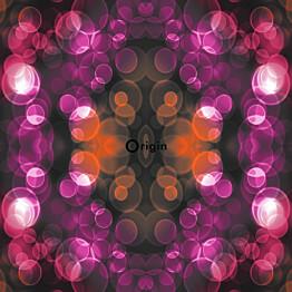 Tapetti Urban Funky 337202 0,53x10,05 m oranssi/pinkki