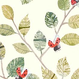 Tapetti Villa Nova Ladybugs paperipinta