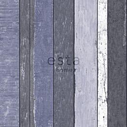 Tapetti Wooden Boards 138251 0,53x10,05 m sininen