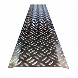 Tasolista Warma, 70x1000mm, riisinjyvä, alumiini