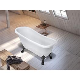 Tassuamme Bathlife Ideal 802, 1530 mm, valkoinen/musta