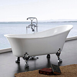 Tassuamme Bathlife Fossing 1620 1620x710mm 180l valkoinen