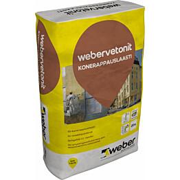 Täyttölaasti Weber Vetonit 411 25 kg
