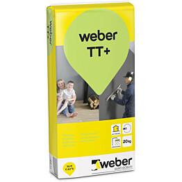 Täyttötasoite TT+ Webervetonit 20 kg