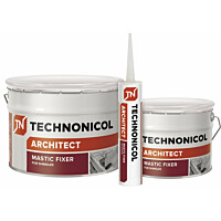 Bitumimassa Technonicol Architect Mastic Fixer 23 310 ml tuubi
