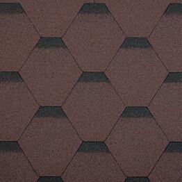 Palahuopa Technonicol Quadrille Agate 3 m²/pkt ruskea