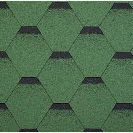 Palahuopa Technonicol Quadrille Nephrite 3 m²/pkt vihreä