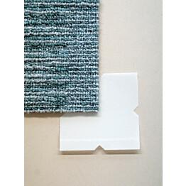 Tekstiililaatan tarrapala Forbo Tessera In-touch Smart Tac 7,5x7,5 cm 100 kpl valkoinen