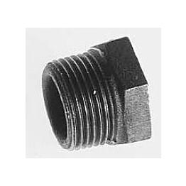Teräs-supistusnippa musta sisäkierre/ulkokierre DN 80x50