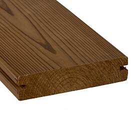 Terassilauta SWM-Wood ThermoWood EasyFix mänty 26x117 mm sileä lämpökäsitelty
