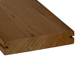 Terassilauta SWM-Wood ThermoWood EasyFix mänty 26x140 mm sileä lämpökäsitelty