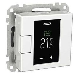 Termostaatti Schneider Electric WTH16 16A USE IP20 VAL  viikko-ohjelmoitava valkoinen Exxact