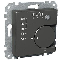 Termostaatti KNX IP20 UK antrasiitti  Exxact 2816202