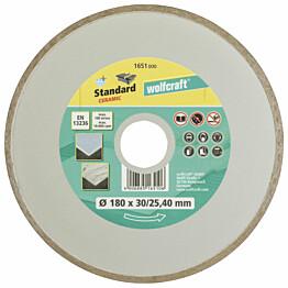 Timanttilaikka Wolfcraft 1651000 Standard Ceramic jatkuvakehäinen 180 mm