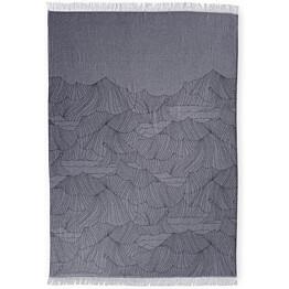 Torkkupeite Finlayson Tyrsky 130x170 cm sininen/valkoinen