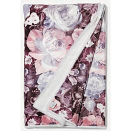 Torkkupeitto Lennol Amalia 130x170 cm lila valkoinen Minea-vuori