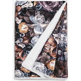 Torkkupeitto Lennol Amalia 125x170 cm ruskea valkoinen Minea-vuori