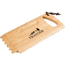 Puhdistuskaavin Traeger on valmistettu puusta
