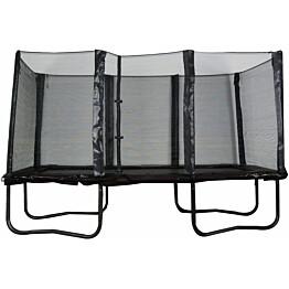 Trampoliini Trekkrunner Pro, suorakulmainen, 5.18x3.05m, musta