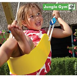 Trapetsikeinu Jungle Gym, keltainen