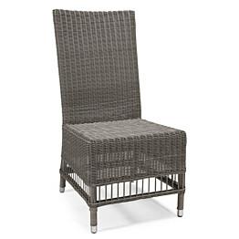 Tuoli Trenton 51x53x101 cm harmaa + musta pehmuste