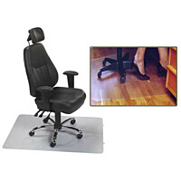 Tuolinalus parketille/laminaatille Duri Protect 120x100cm 2mm