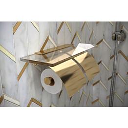 Tupla-WC-paperiteline Hietakari Tresor messinki