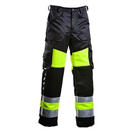Työhousut Dimex 6340 hi-vis keltainen/musta