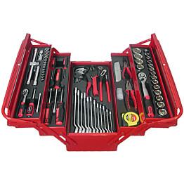 Työkalupakki+työkalut AmPro 1/4'' 1/2'' 76-osainen