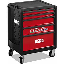 Työkaluvaunu Usag Start 516 171-osainen