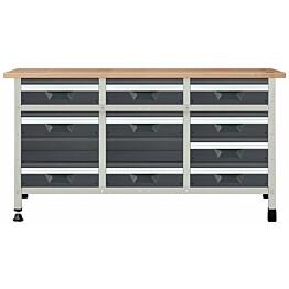 Työpöytä autotalliin Wolfcraft 8076000 860x1610x650 mm