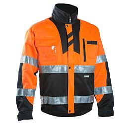 Työtakki Dimex 6019 hi-vis oranssi/musta