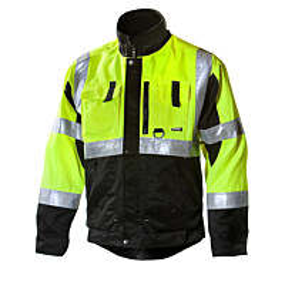 Työtakki Dimex 6330 hi-vis keltainen/musta