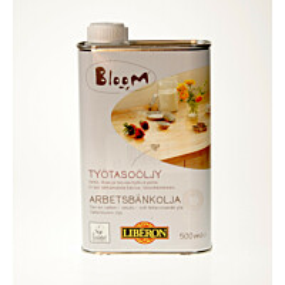Työtasoöljy Liberon Bloom 500 ml väritön (052340)