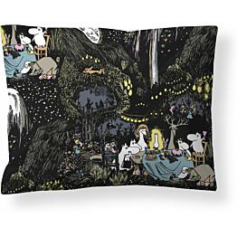Tyynyliina Finlayson Tähtimuumi 50x60 cm musta