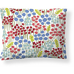 Tyynyliina Finlayson Armas 50x60 cm valkoinen/sininen/koralli