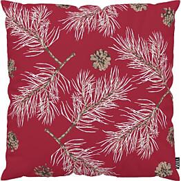 Tyynynpäällinen Vallila Havu 43x43cm punainen