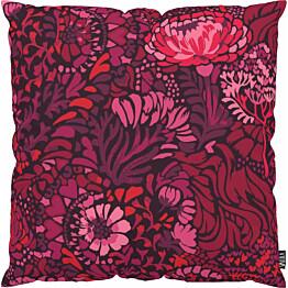 Tyynynpäällinen Vallila Napolinlahti 43x43cm punainen