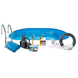 Uima-allaspaketti Swim & Fun Basic InGround 120, 500 x 300 cm upotettava