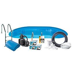 Uima-allaspaketti Swim & Fun Basic InGround 150, 800 x 400 cm upotettava