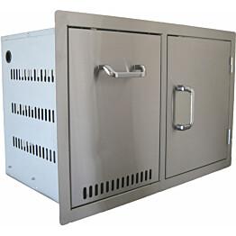 Ulkokeittiön komponentti BeefEater vetolaatikko + 1 ovi rst