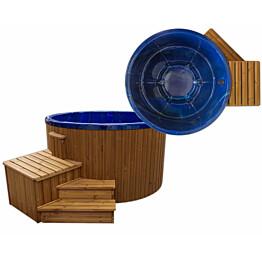 Ulkoporeallas SpaDealers TopSpa xs 6 hlöä brown/ocean blue
