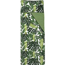 Unipussi Finlayson Bunaken 90x250 cm valkoinen/vihreä