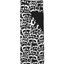 Unipussi Finlayson Pesue 90x250 cm musta/valkoinen luomupuuvilla