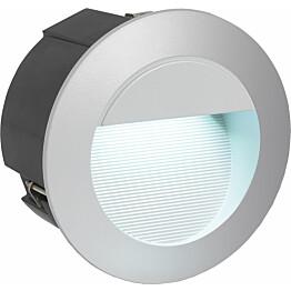 Upotettava LED-valaisin Eglo Zimba Ø125 mm hopea