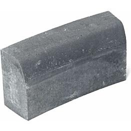 Upotettava reunakivi Rudus H5 kaarre R2500 kovera 560x170x300 mm sileä harmaa