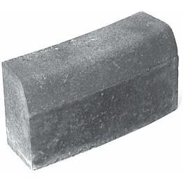 Upotettava reunakivi Rudus H6 kaarre R2500 kupera 560x170x300 mm sileä harmaa