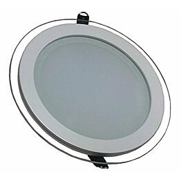 Upotettava LED-valaisin V-TAC VT-1881G RD 18W 230V 3000K 1260lm IP20 Ø 198mm valkoinen