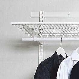 Vaakakisko Norscan Roller Wall System 1400 mm valkoinen
