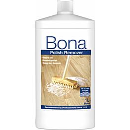 Vahan- ja kiillotusaineiden poistaja Bona 1l
